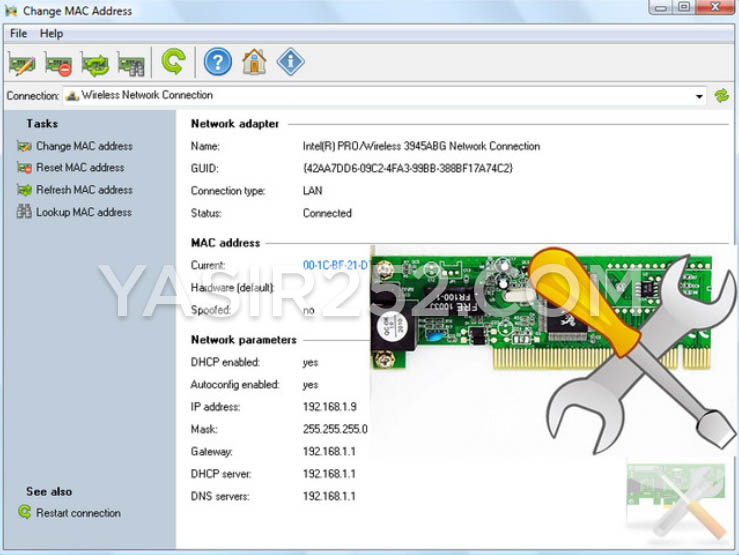 Cara Mengganti Mac Address Mac Address Changer Change Mac Address Yasir252