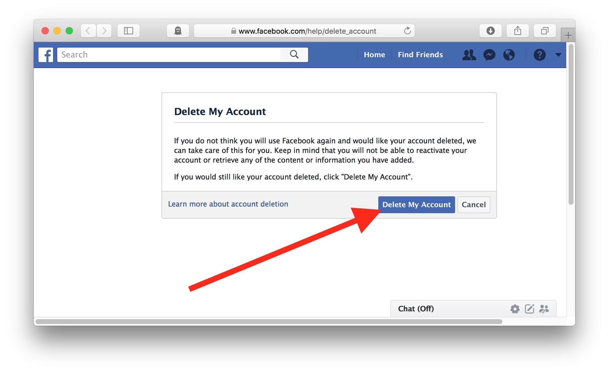 Cara Menghapus Akun Facebook Yasir252