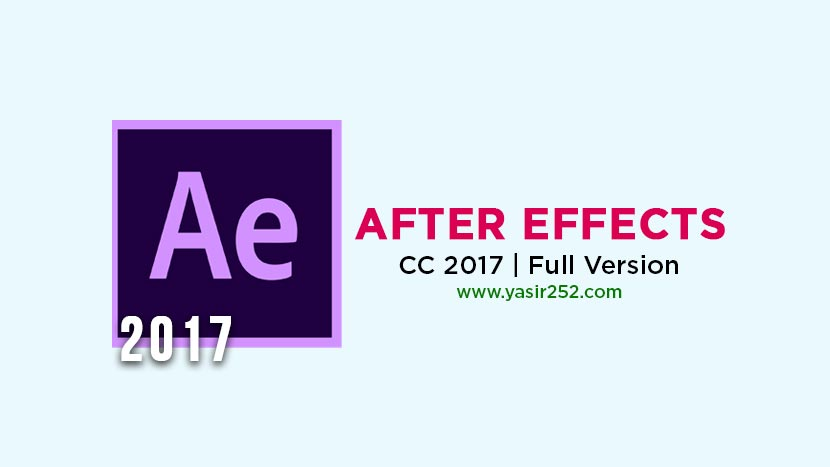 Download Adobe After Effects CC 2017 Full Version Crack