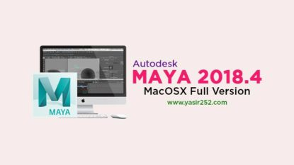 Download Autodesk Maya 2018 MacOSX Full Version