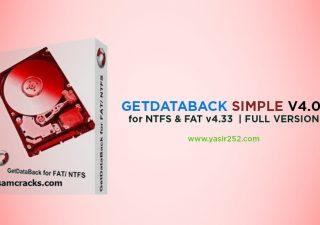 Download GetDataBack 4 Full Version Crack Registration Yasir252