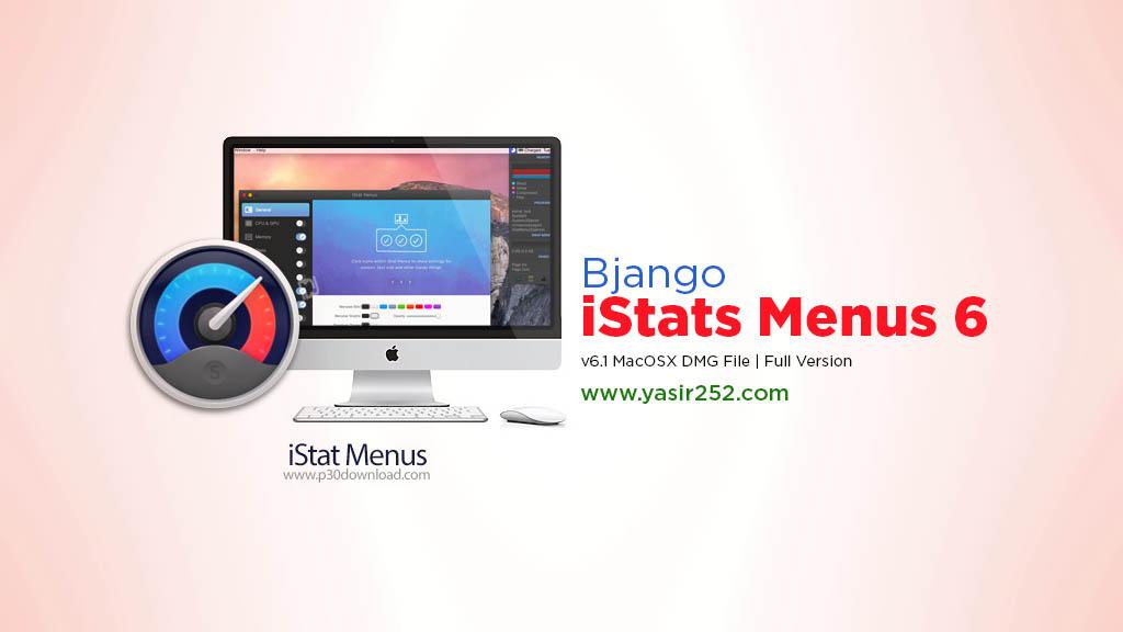 Download iStats MacOSX Full Version v6.1 iStats Menu Yasir252