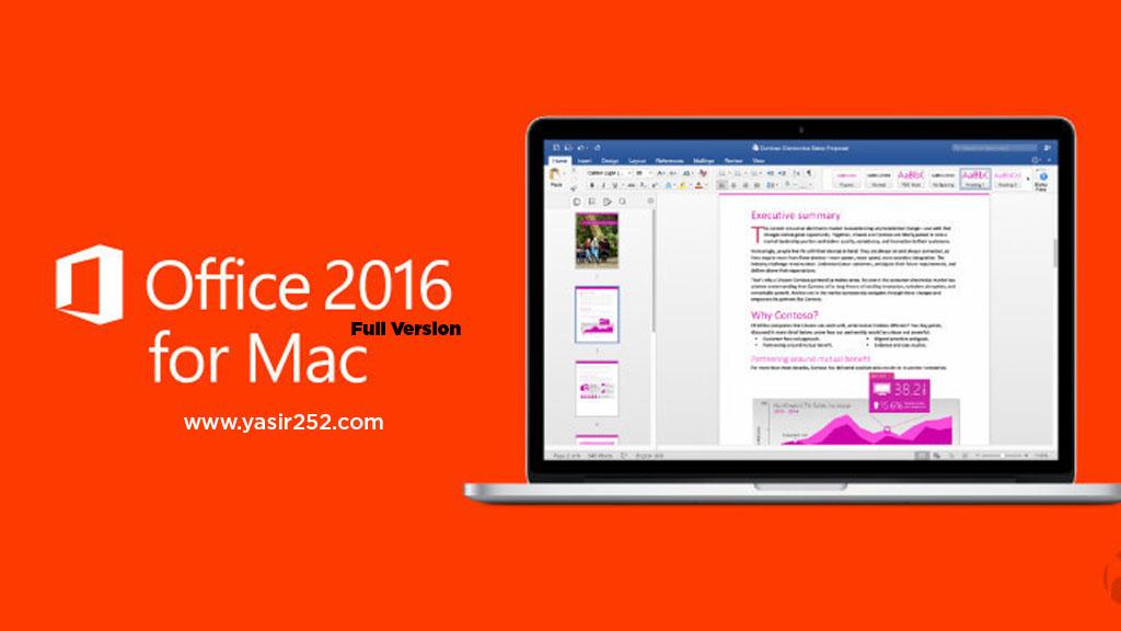 microsoft office 2016 for mac 15.39.0 vl & crack
