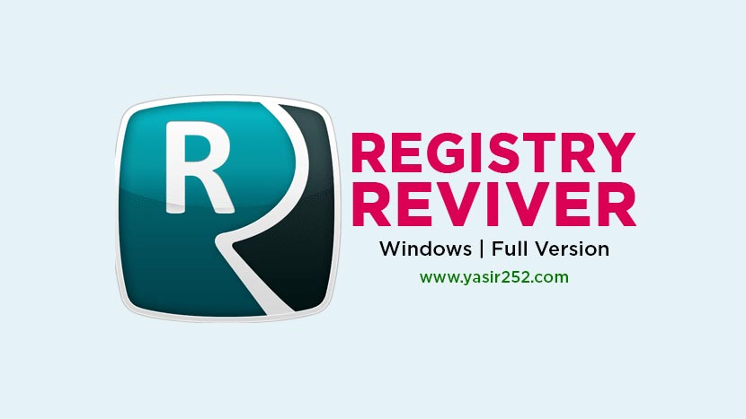 Download Registry Reviver Full Version Crack