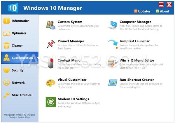 Download windows 10 manager terbaru gratis