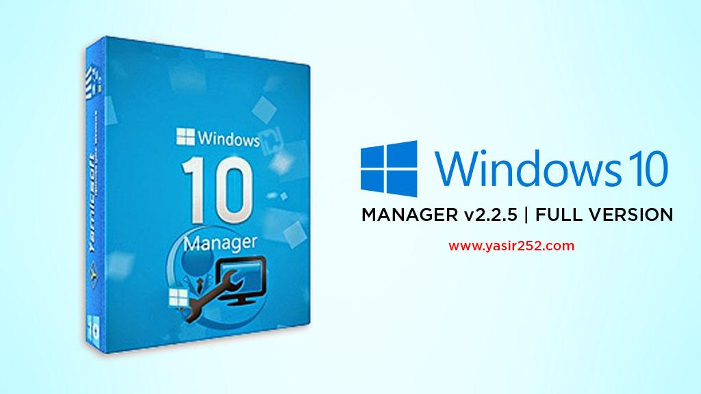 Download windows 10 manager full version crack