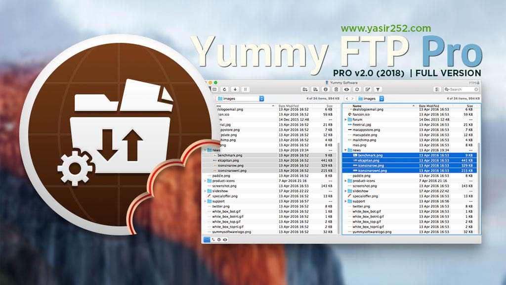 Download Yummy FTP Pro v2 Full Version Yasir252