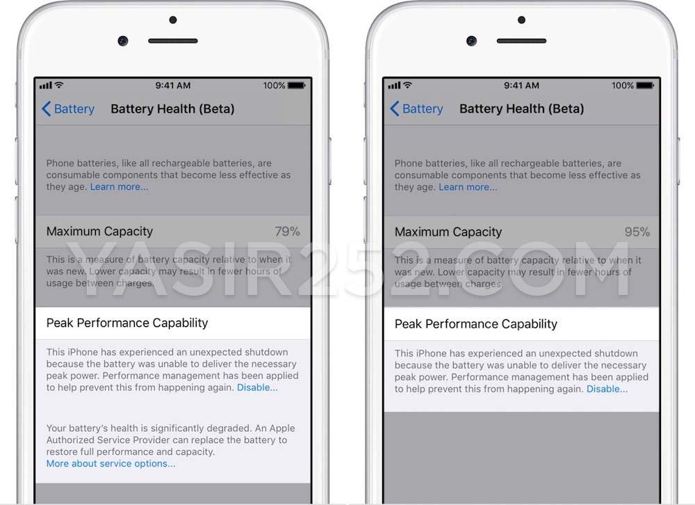 Fitur Terbaru iOS 11 Kondisi Batere iPhone iPad
