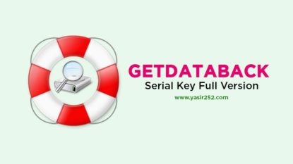 GetDataBack Full Version Download NTFS FAT Crack