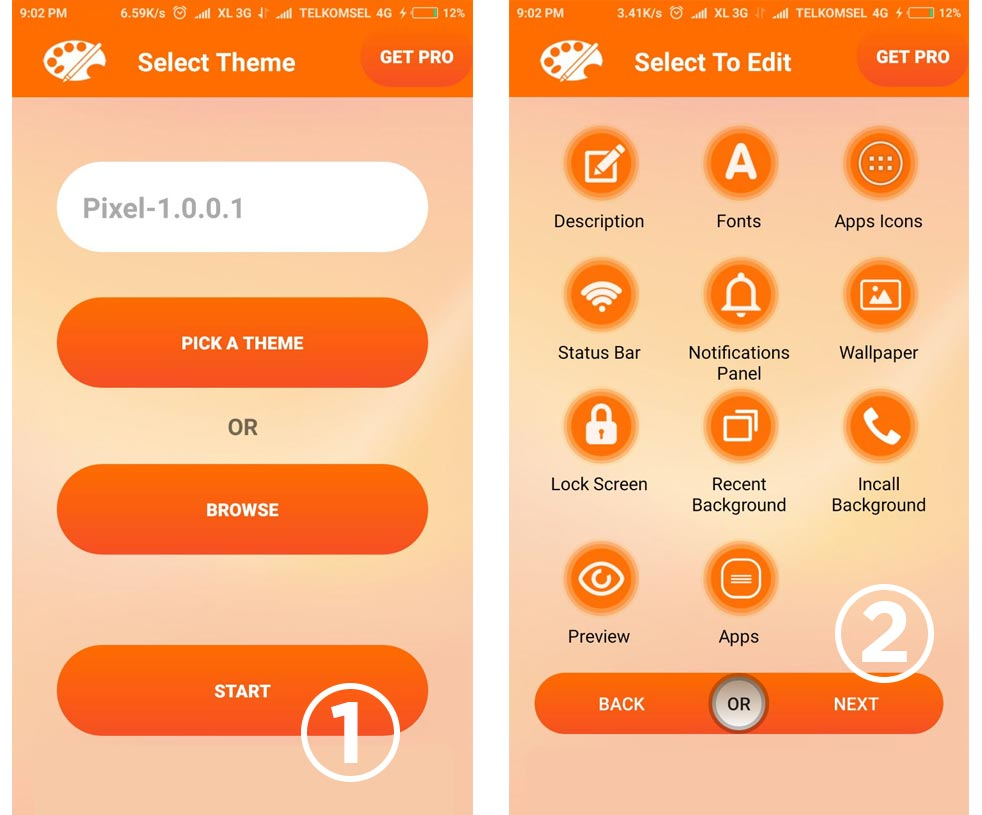 Cara merubah miui theme dengan aplikasi xiaomi theme editor