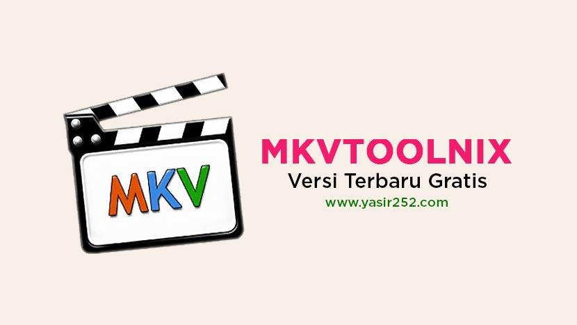 MKVToolnix Free Download Terbaru