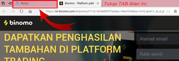 Popup Ads FCLC