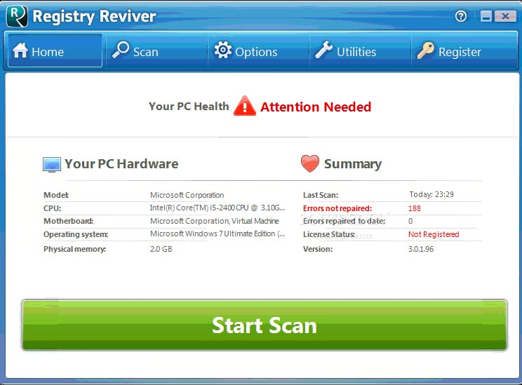 Registry Reviver Crack Full Version Free Download