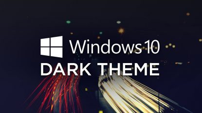 Download Tema Windows 10 Dark Edition Yasir252