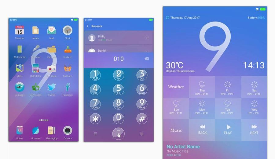 Xiaomi tema core 999