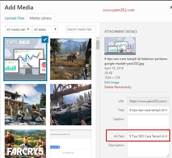 9 Tips SEO Halaman Pertama Google Yasir252