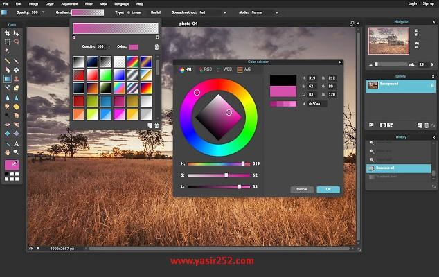 Aplikasi Edit Foto Online Terbaru Gratis Terbaik Pixlr Yasir252