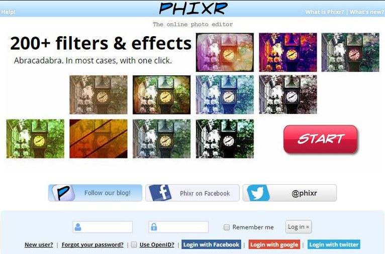 Aplikasi Edit Foto Terbaik Online Phixr Yasir252