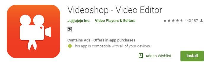 Aplikasi untuk edit video di android