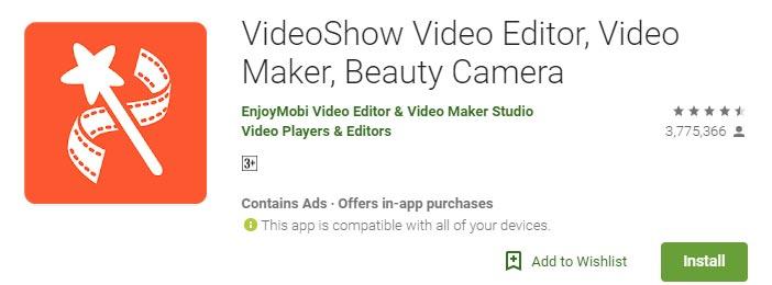 Aplikasi Android Untuk Edit Video Dengan Video Show