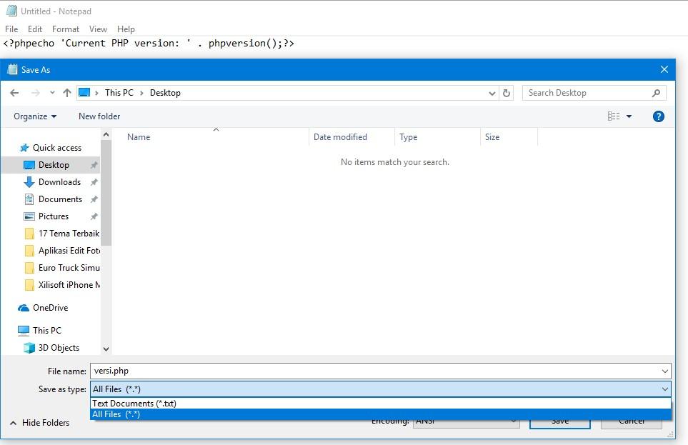 Cara Mengetahui Versi PHP di Website Server Yasir252