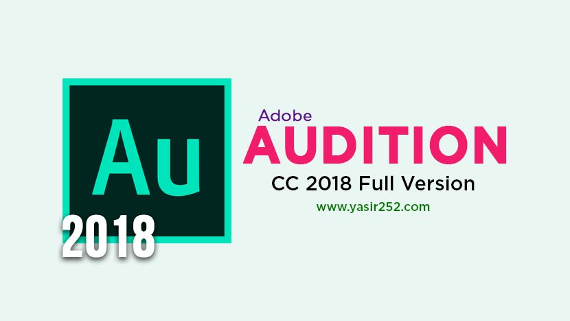 Download Adobe Audition CC 2018 Full Version Crack
