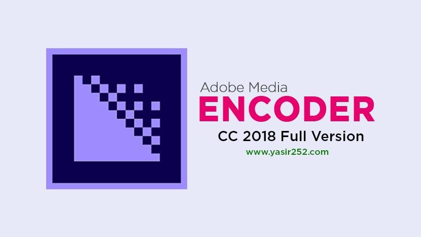 adobe media encoder cc 2018 crack download