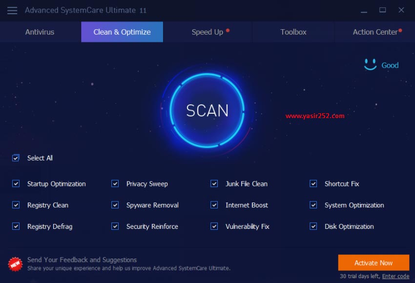 Advanced Systemcare Pro Free Download