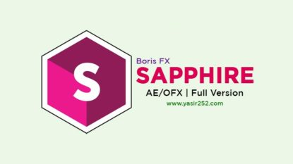 Download Boris FX Sapphire Full Version Crack