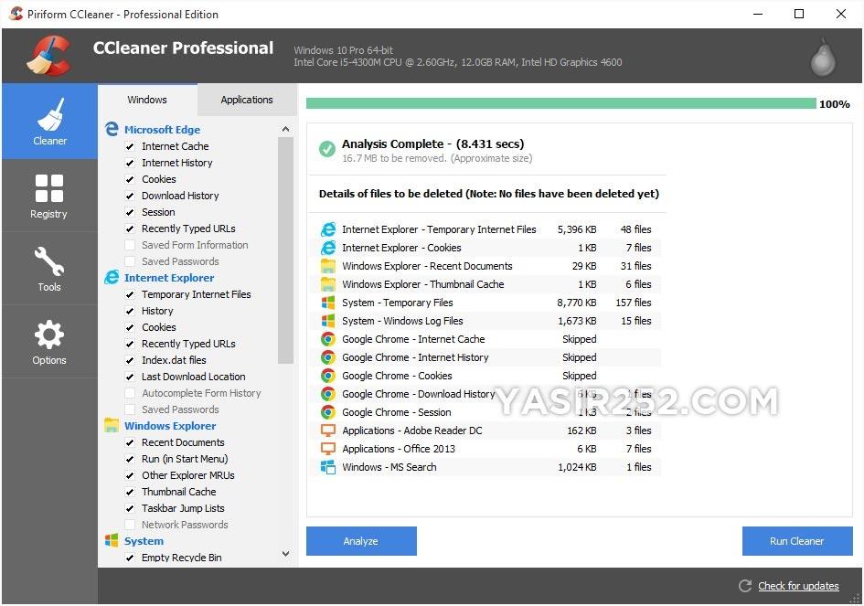 Download CCleaner Full Crack