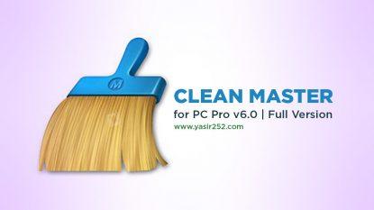 Download Clean Master Full Version v6 Pro Yasir252