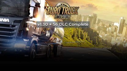 Download Game Euro Truck Simulator 2 Full Version All DLC Yasir252
