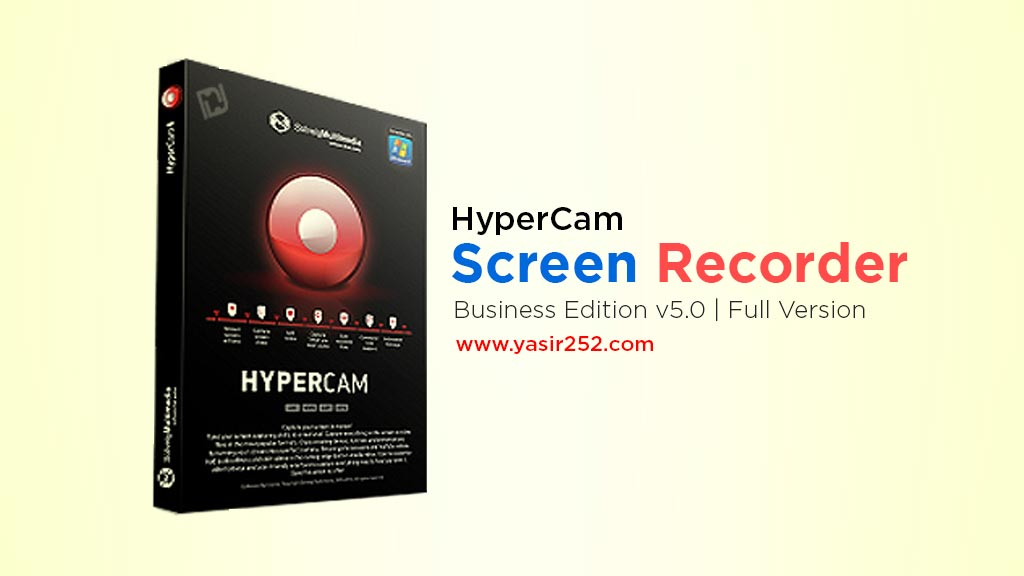 software screen recorder hyper 5 full version gratis