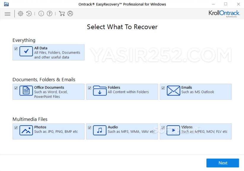 Download Ontrack Easy Recovery Full Version Professional Technician v12.0 Yasir252
