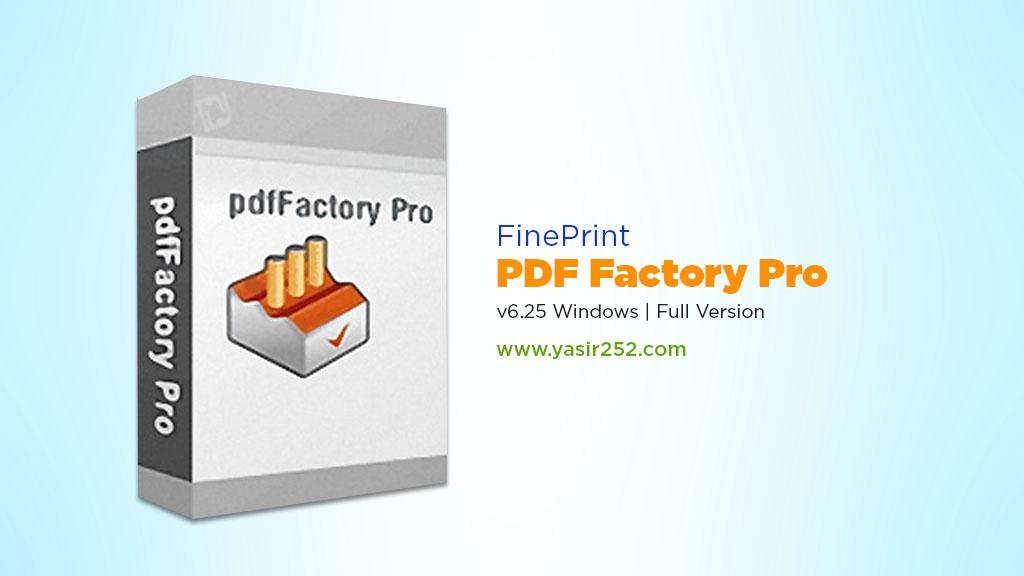 Download PDF Factory Full Version 6 Yasir252