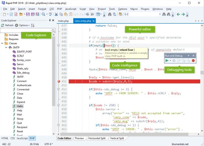 Rapid PHP Editor Terbaru