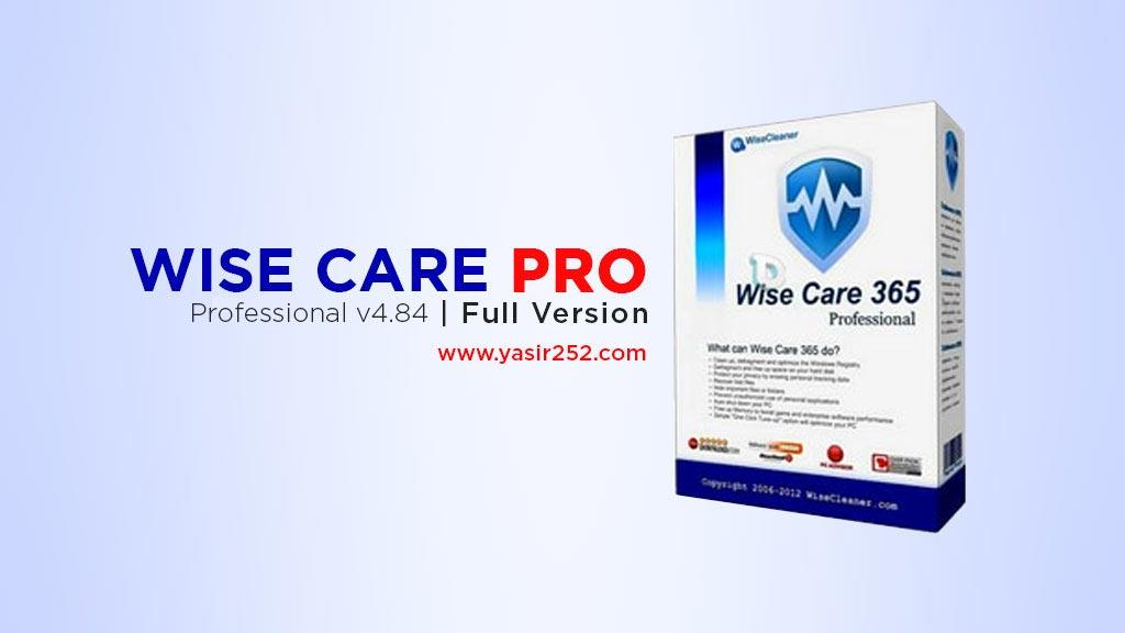 Download wise care 365 pro full crack gratis