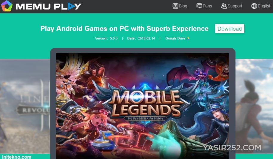 Emulator Android Terbaik Untuk PC MEmu