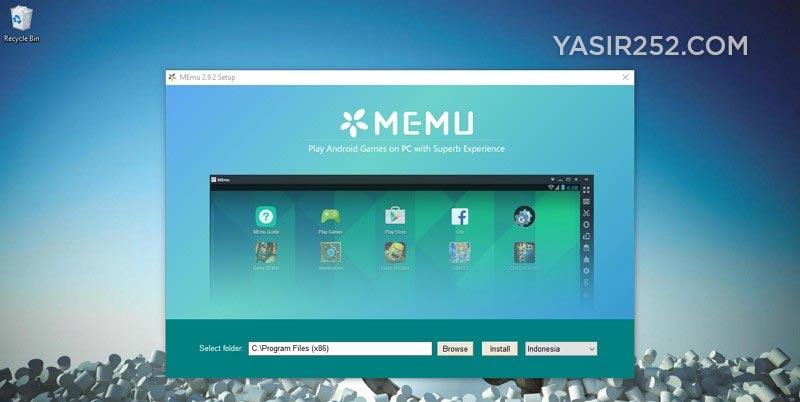 Emulator Android Untuk PC MEmu Android Emulator Yasir252