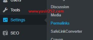 Meningkatkan SEO Website Merubah URL Permalink WordPress Yasir252