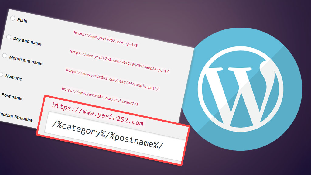 Cara Meningkatkan SEO Website WordPress Merubah Struktur URL Permalink WordPress Yasir252