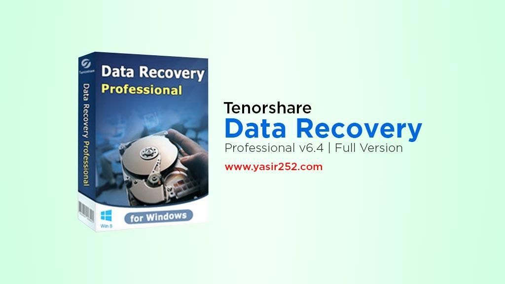 Tenorshare any data recovery 6 full version gratis