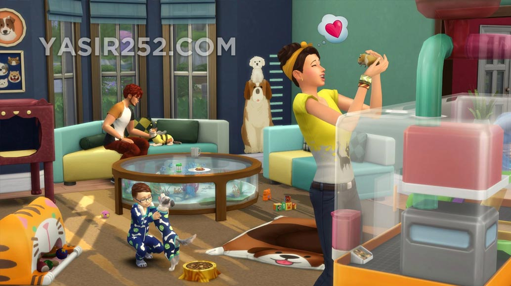 The Sims 4 Download Free Full Version PC Delixe All DLC My Pet Stuff Fitgirl Repack