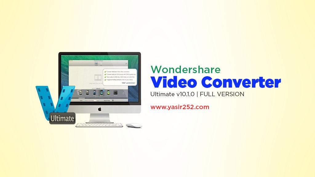 Video Converter Download Full Version Wondershare Video Converter Yasir252
