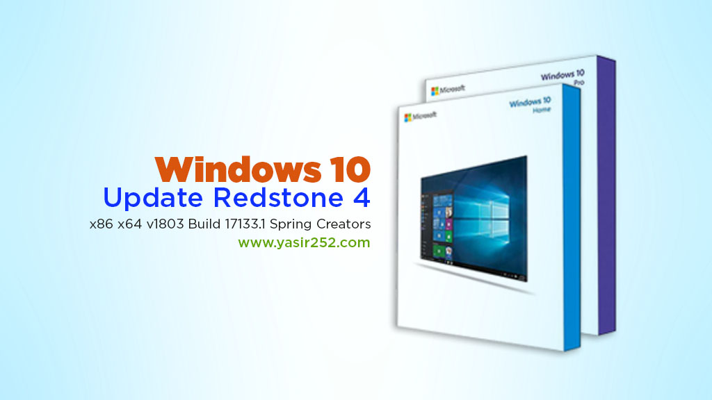 Download Windows 10 Pro Terbaru Redstone 4 2018 Yasir252