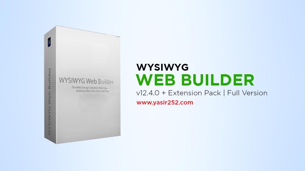 WYSIWYG Free Web Builder Software Download Full Version v12.4 Yasir252