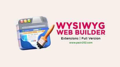 WYSIWYG Web Builder Free Download Full Version Extensions