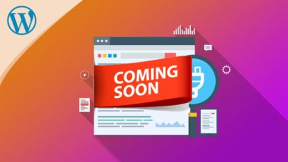 Cara membuat halaman coming soon wordpress