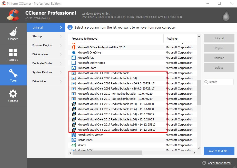 Cara memperbaiki msvcp110 dll error di windows 10