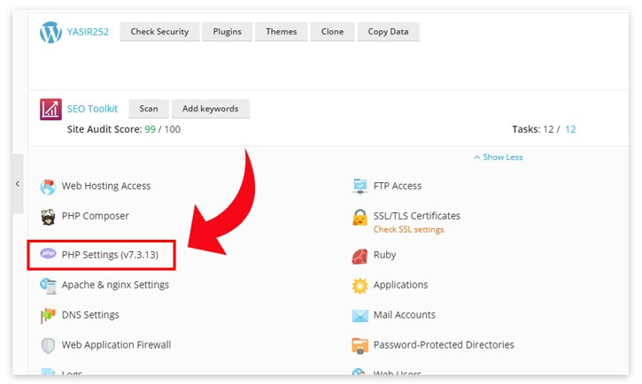 Cara Update PHP Plesk Admin Website